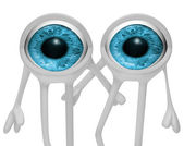 Two eyes — Stock Photo