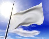White flag — Stock Photo