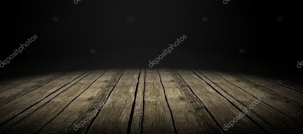 Detail of wood floor with dramatize ligth — Stock Photo #3919675