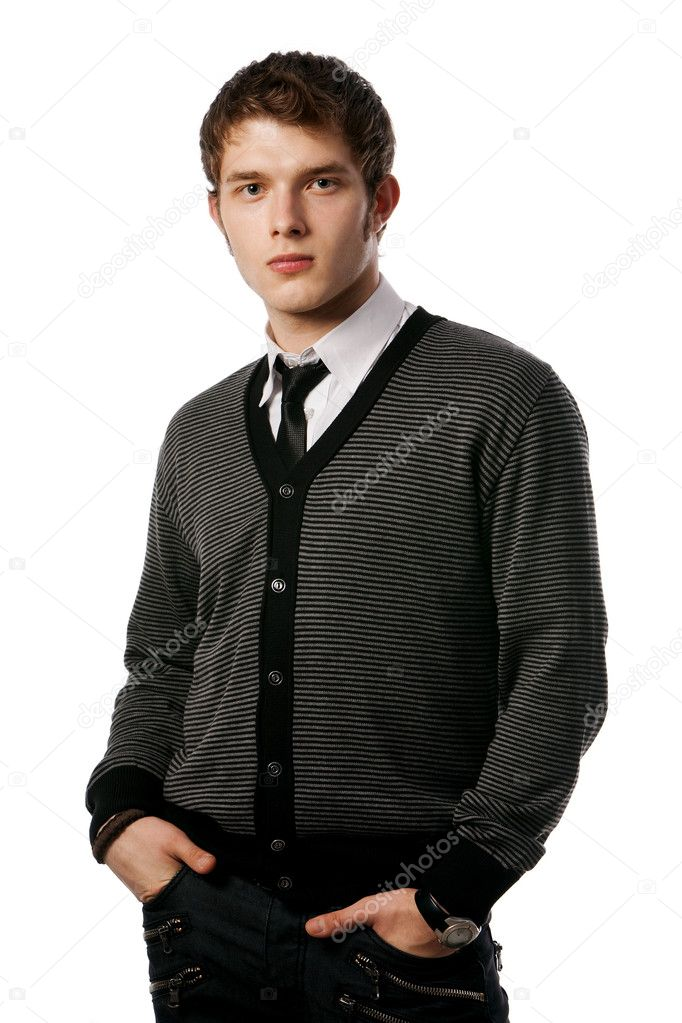 A man in business clothes — Stock Photo #3914449