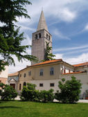 Euphrasian Basilica in the historic centre of Porec, Croatia — Stock Photo