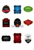 Vintage labels. — Stock Vector