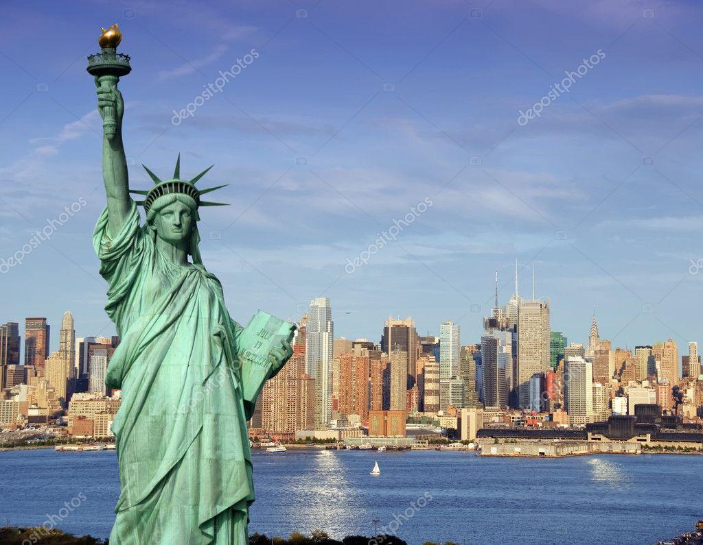 фото статуя свободы