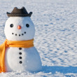 Snowman — Stock Photo #3921519
