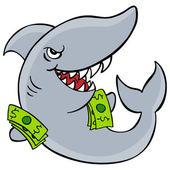 Loan Shark — Stock Vector
