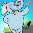 Royalty-Free Stock Vectorielle: Elephant
