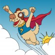 Stock Vector: Super Dog!