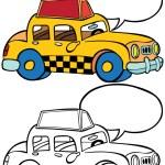 Taxi — Stock Vector #3983332