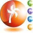 Palm Tree — Stockvector #3983741