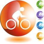 Cycling — Stock Vector