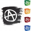 Anarchy - Stock Vector