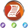 Signed Will — Stock Vector #3983848