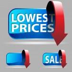 Low Price — Stock Vector