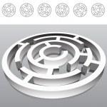 Maze — Stock Vector #3984025