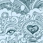 Love Doodle — Stock Vector #3984148