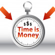 Vector de stock : Time is Money
