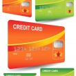 Stock Vector: Credit Cards