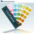Color Guide Chart — Stock Vector