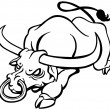 Angry Bull - Imagen vectorial
