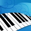 Piano Keyboard - Image vectorielle