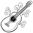 Stock Vector: Guitar