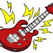 Stock Vector: Electric Guitar