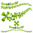 Lucky Banner — Stock Vector