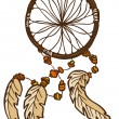 Stock Vector: Dreamcatcher