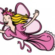 Princess Fairy — Stock Vector