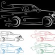 Fast Car — Vector de stock