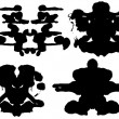 Inkblot Test - Stock Vector