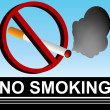 No Smoking Sign — Stock Vector #3984634