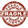 Fragile Stamp - Stock Vector