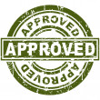 Approved Stamp — Image vectorielle