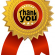 Royalty-Free Stock Vector Image: Thank You Ribbon