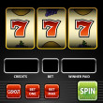 Lucky Seven Slot Machine — Stock Vector