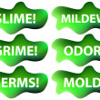 Vettoriale Stock : Slime Icon Set