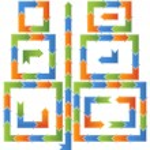 Схема рабочего процесса - стрелки — Cтоковый вектор