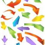 Directional Arrow Icons — Stock Vector #3985307