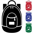 Backpack — Image vectorielle