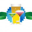 Drinks Icon — Stock Vector