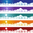 Real Estate Banner Set — Stock Vector