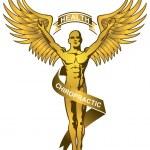 Chiropractic Symbol - Gold — Stock Vector #3986579