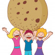 Vector de stock : Giant Cookie