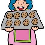 Baking Cookies — Stock Vector #3986873
