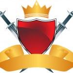 Crown — Stockvektor