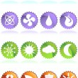 Royalty-Free Stock 矢量图片: Eco Friendly Icons