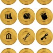 Education Icons — Stock Vector #3987380