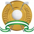 Golfing Icon — Stock Vector #3988274