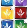 Wheat Icon — Stock Vector